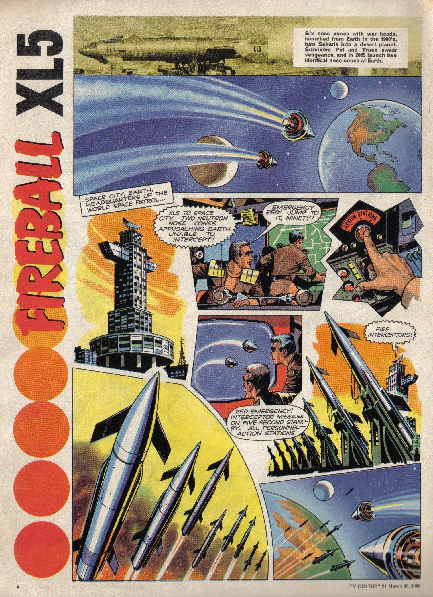 Read online TV Century 21 (TV 21) comic -  Issue #9 - 5