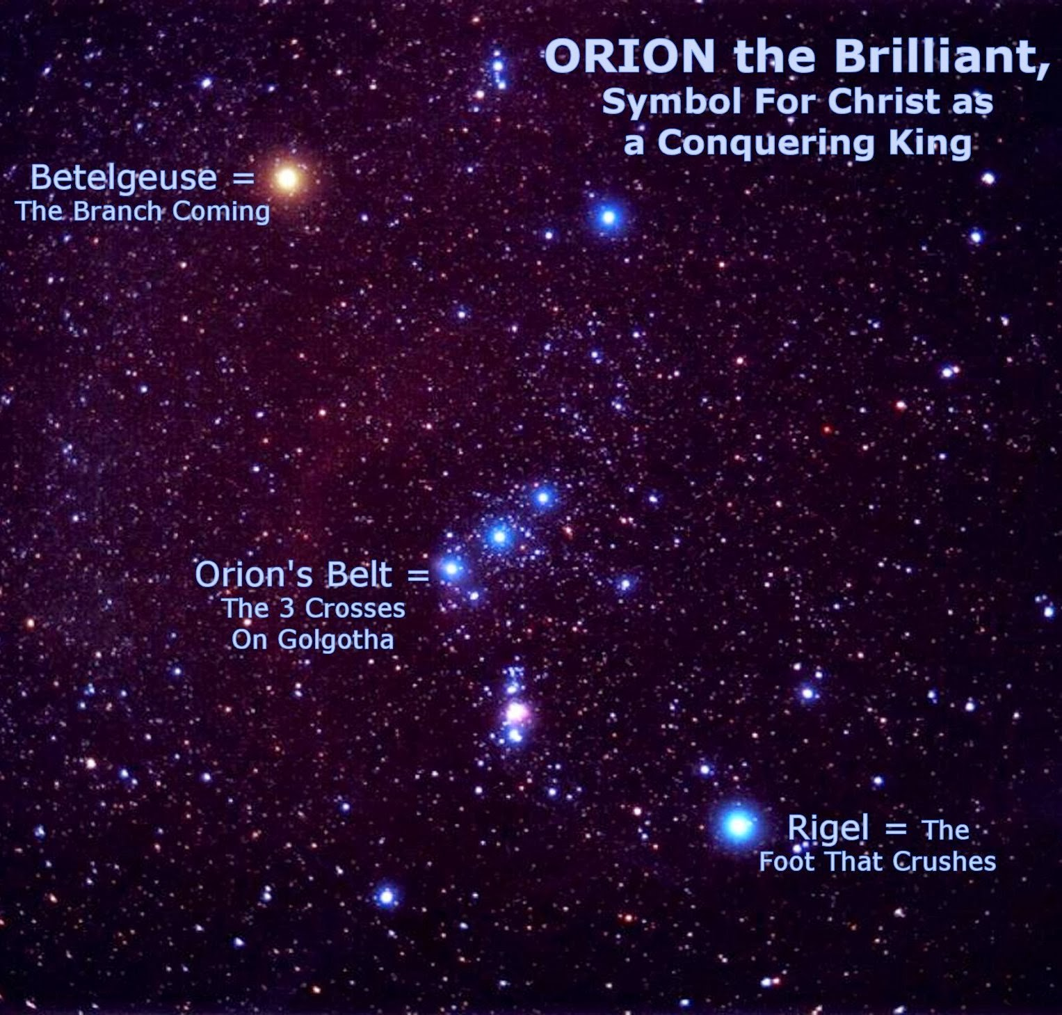 Pillar Of Enoch Ministry Blog The Meaning Of The Orion
