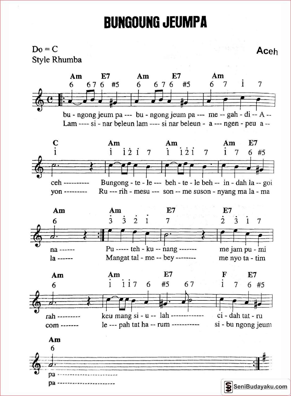 Download Lagu Bungong Jeumpa Tania : download, bungong, jeumpa, tania, Lirik, Bungong, Jeumpa