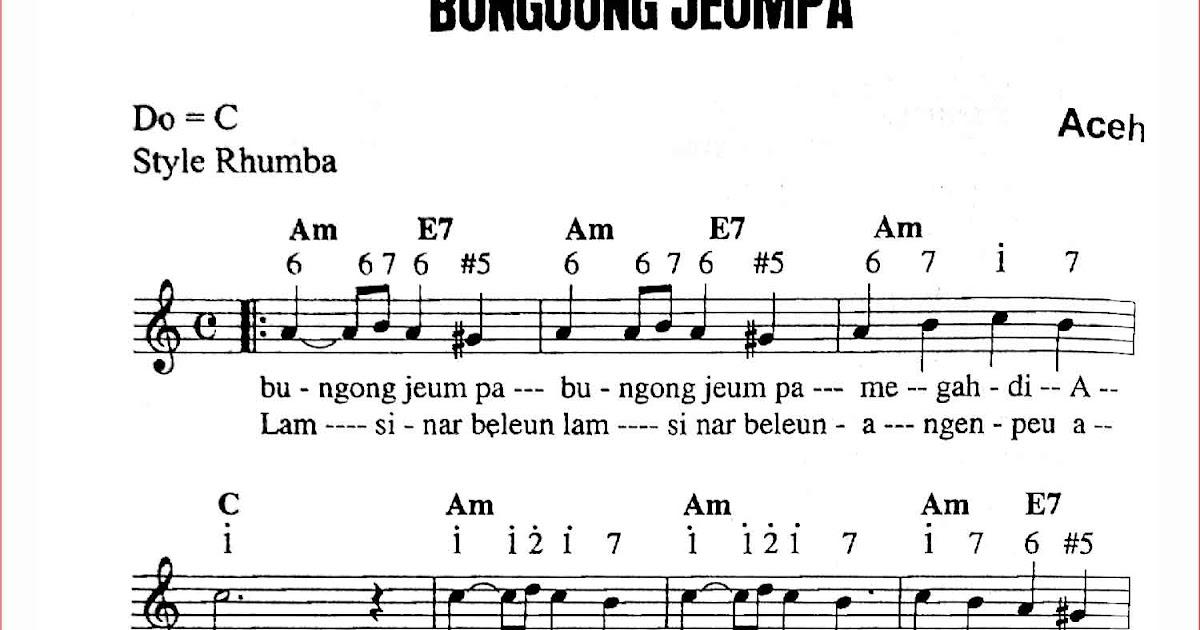 Not pianika lagu daerah yg gampang