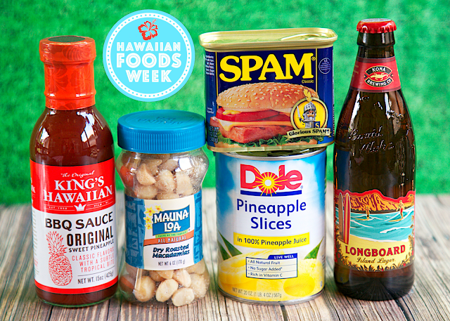 Hawaiian Foods Week with King's Hawaiian, Mauna Loa, Dole, Spam and Kona Brewing Co.