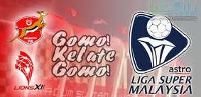 Video Gol Kelantan Vs Lions XII 15-2-2015
