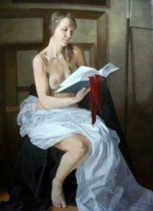 Подборка живописи с темой «Обнаженные читательницы»