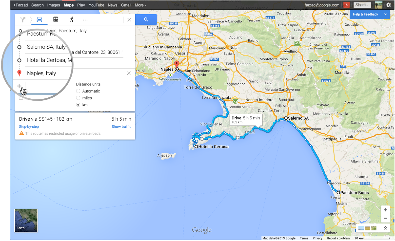 Get Directions For Multiple Destinations With The New Google Maps