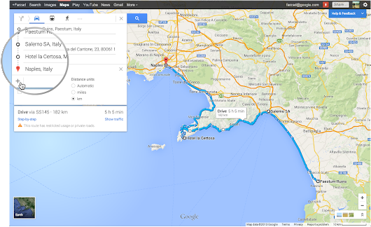 Google Lat Long: Hit the road with the New Google Maps preview