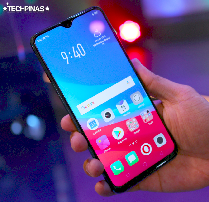 OPPO F9 Twilight Blue