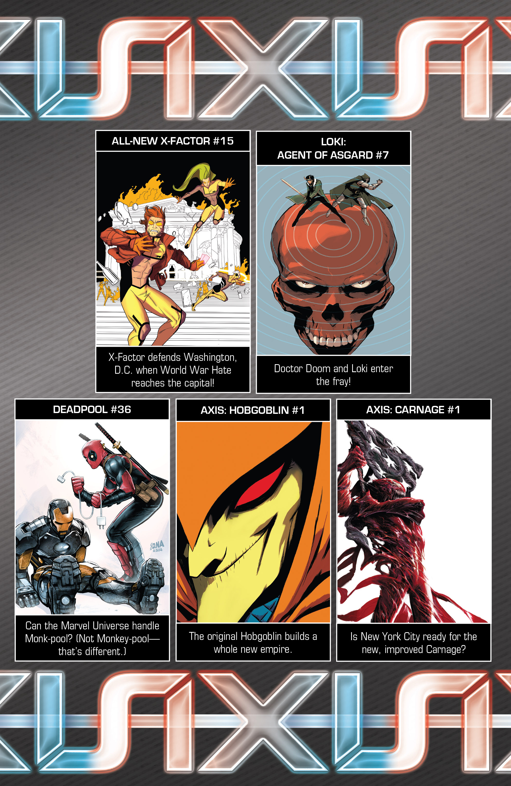 Read online Avengers & X-Men: AXIS comic -  Issue #2 - 26