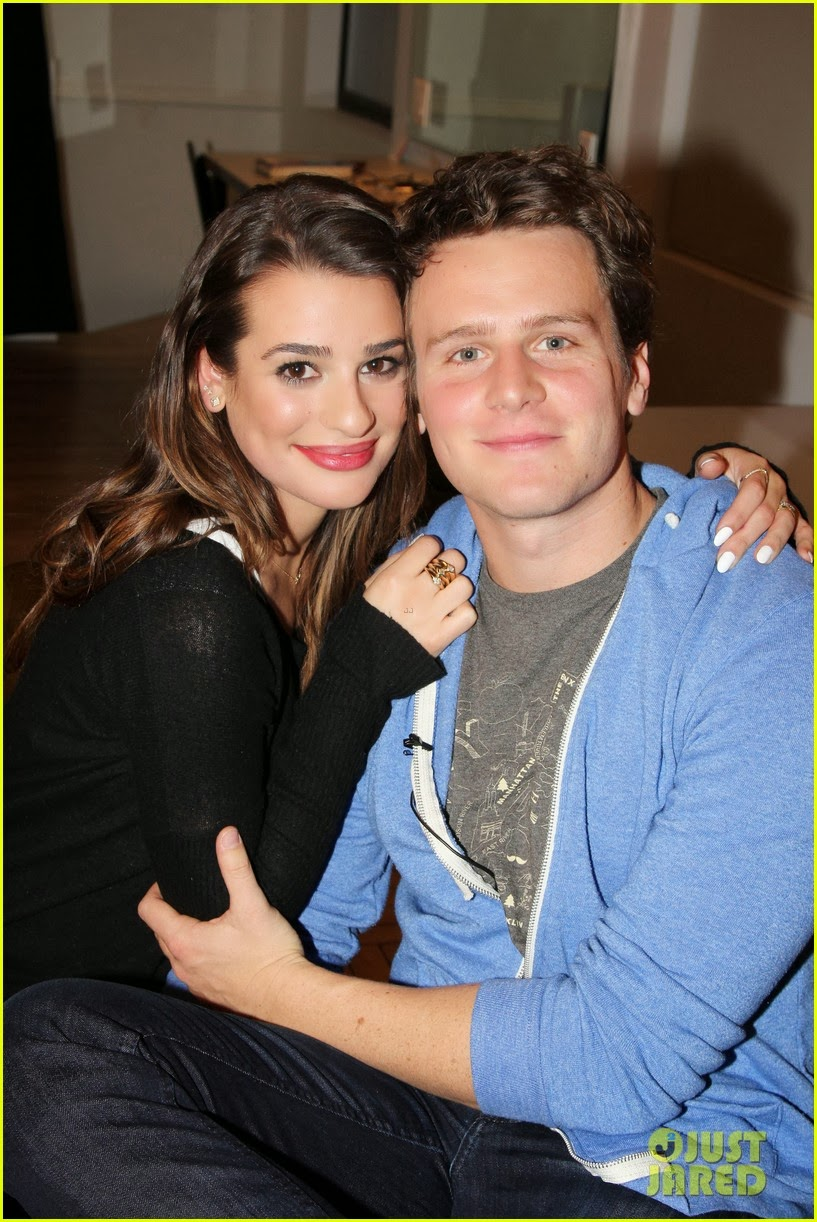 lea michele and jonathan groff dating 2013