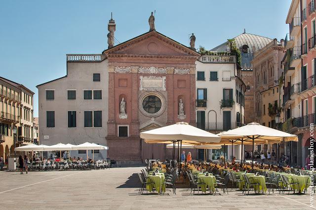 Piazza dei Signori Padua Italia turismo visitar