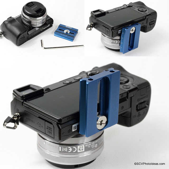 Attaching Novoflex QPL Slim 50 QR plate on a Sony NEX 7