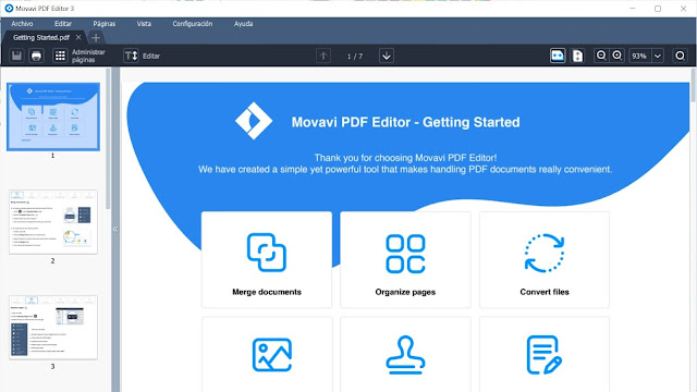 Movavi PDF Editor Descargar