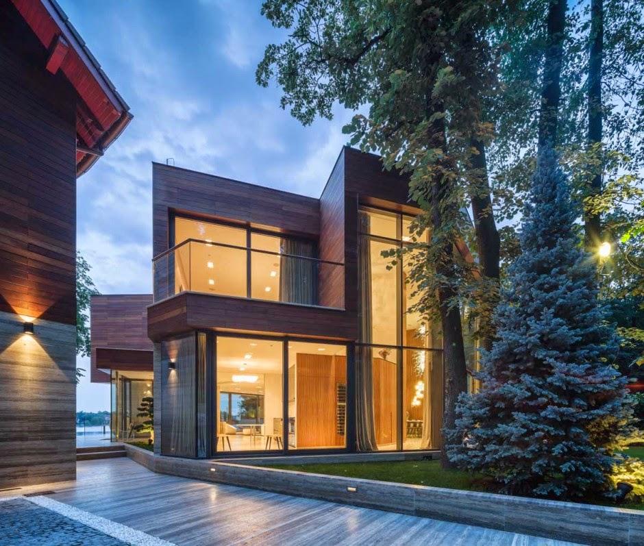 Uma Casa Contempor 226 Nea No Lago Design Innova