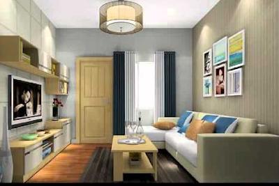 desain ruang tamu minimalis bernuansa putih