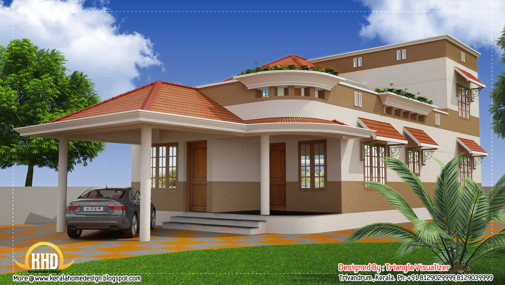 Beautiful modern traditional kerala home 2325 sq ft for Traditional house plans in india
