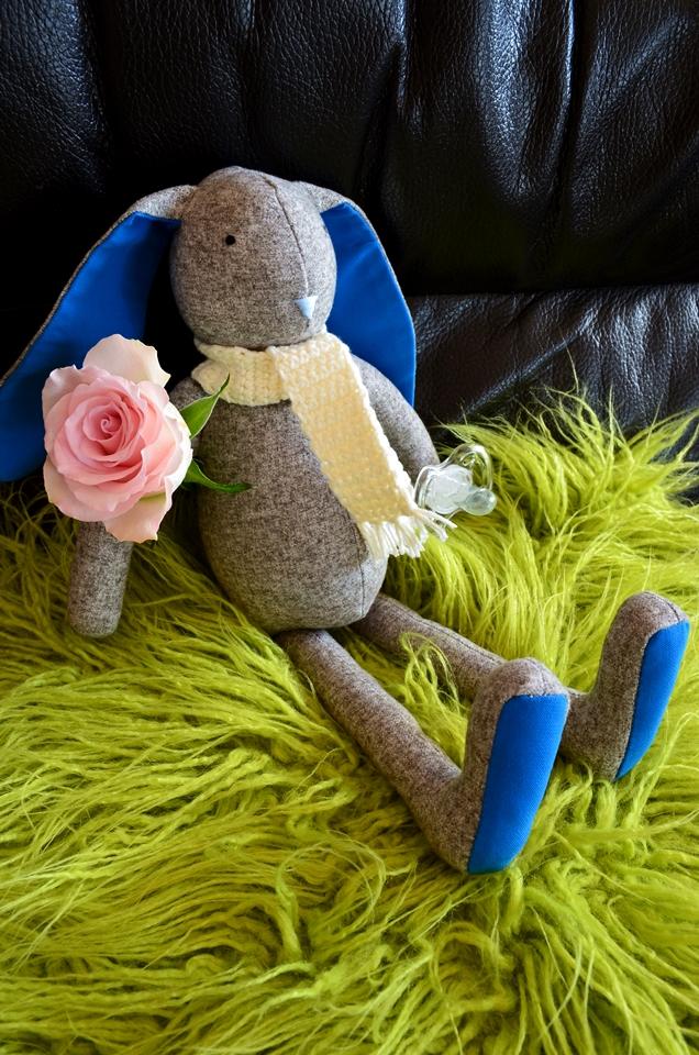 Adriana Style Blog, Blogerka modowa Puławy, dzidziuś, Kod zniżkowy, Króliczek Bunny, Mufi Podufi Handmade, Porady, Prezent dla dziecka, Rabat, Rękodzieło, Króliczek Bunny, Koszyczek