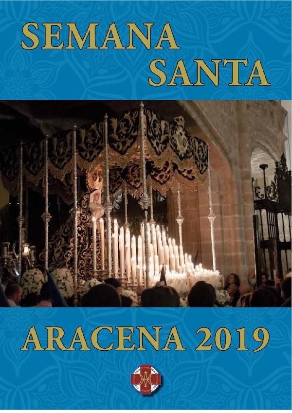 Programa, Horarios e Itinerarios Semana Santa Aracena (Huelva) 2019