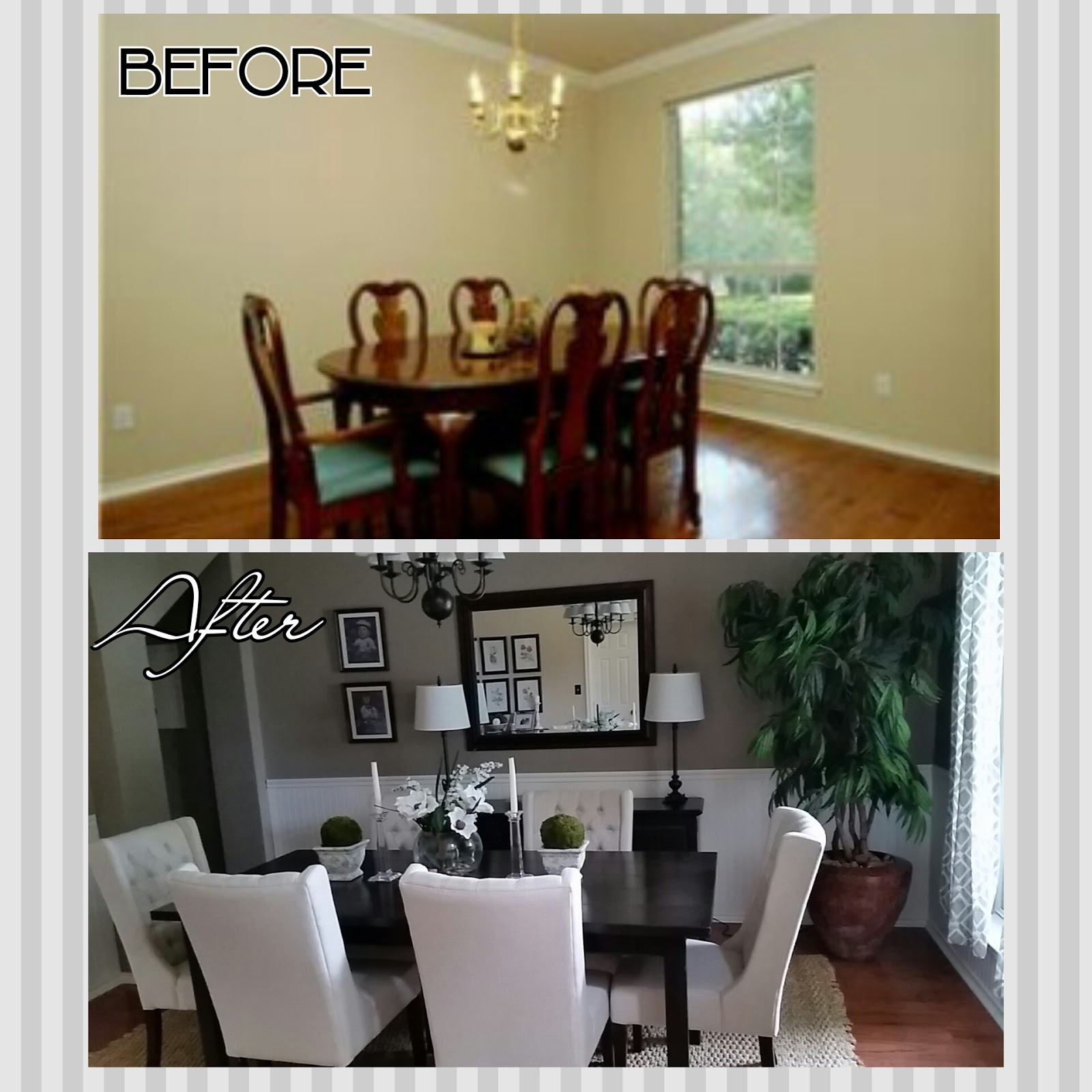 Home Design Ideas Budget: DIYife: Dining Room Makeover On A BUDGET