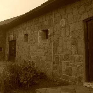 Bela Fachada da Casa de Pedra, em Canela