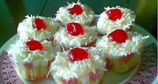 Resep Cup Cake Keju - Bumbu Emak