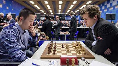 Tata Steel R04: Carlsen impérial face au Chinois Wei Yi - Photo © site officiel