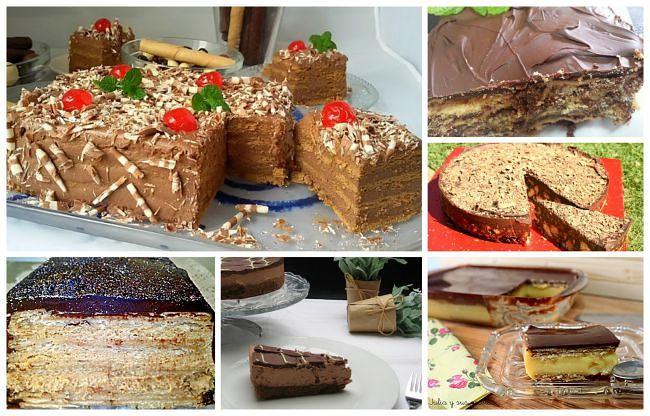 6 tartas fáciles de galletas