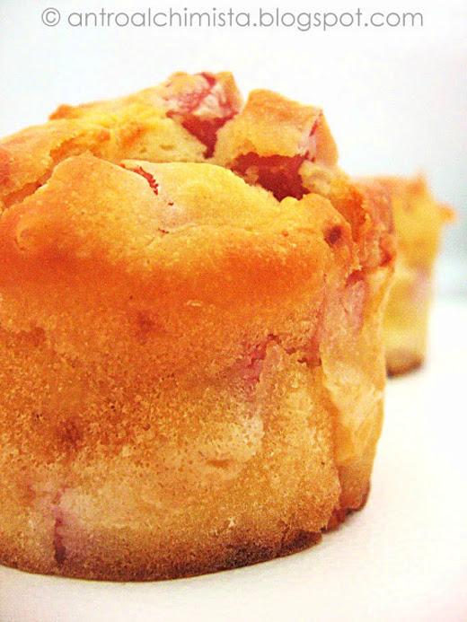 Muffins Salati Prosciutto Cotto e Provola Dolce