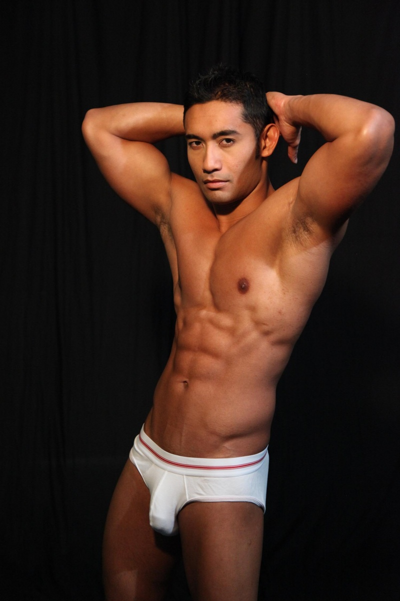 Nick Husin - A Gorgeous Beach Body  Hot Asian Guys - Male -9865