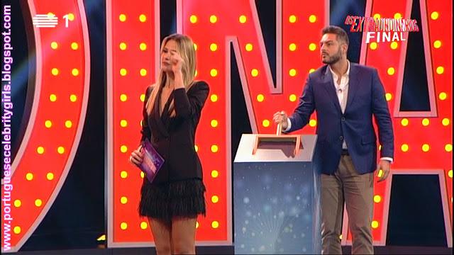 Television Presenter and Actress Sílvia Alberto