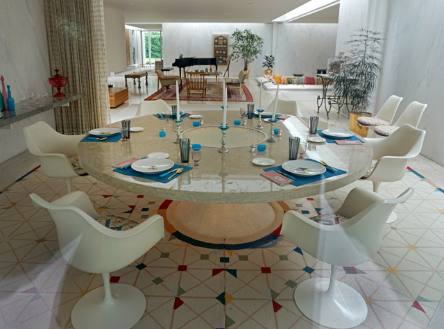 The Miller House Girard Saarinen