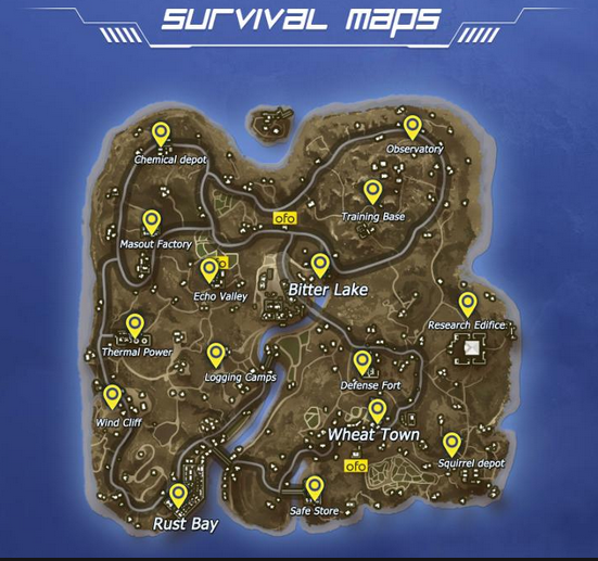 Rules of Survival Map Loot - Best Landing Zones, Finding Loot, Surviving Tips