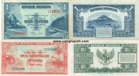 Pengedaran Uang di Indonesia Periode 1953-1959