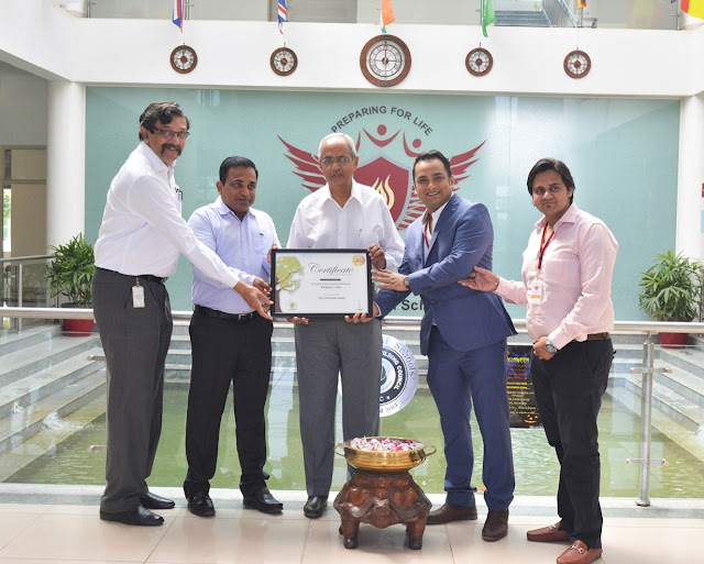 Candor International School conferred prestigious 'Green Pentagon Award' by iCare