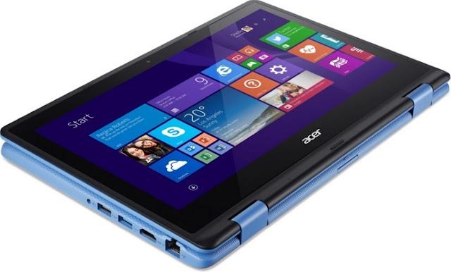 Harga Laptop Acer Aspire R3-131T Tahun 2017 Lengkap Dengan Spesifikasi, Didukung Dengan Processor Intel N3050
