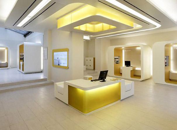 In design magz modern office bank interior lighting design - 10 interesting facts about interior design ...