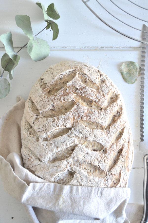 pain au levain sans gluten spoonencore