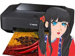 Cara Mengatasi atau Memperbaiki Printer Canon Pixma IP2770 Error 5B00 (Cara Reset IP2770)