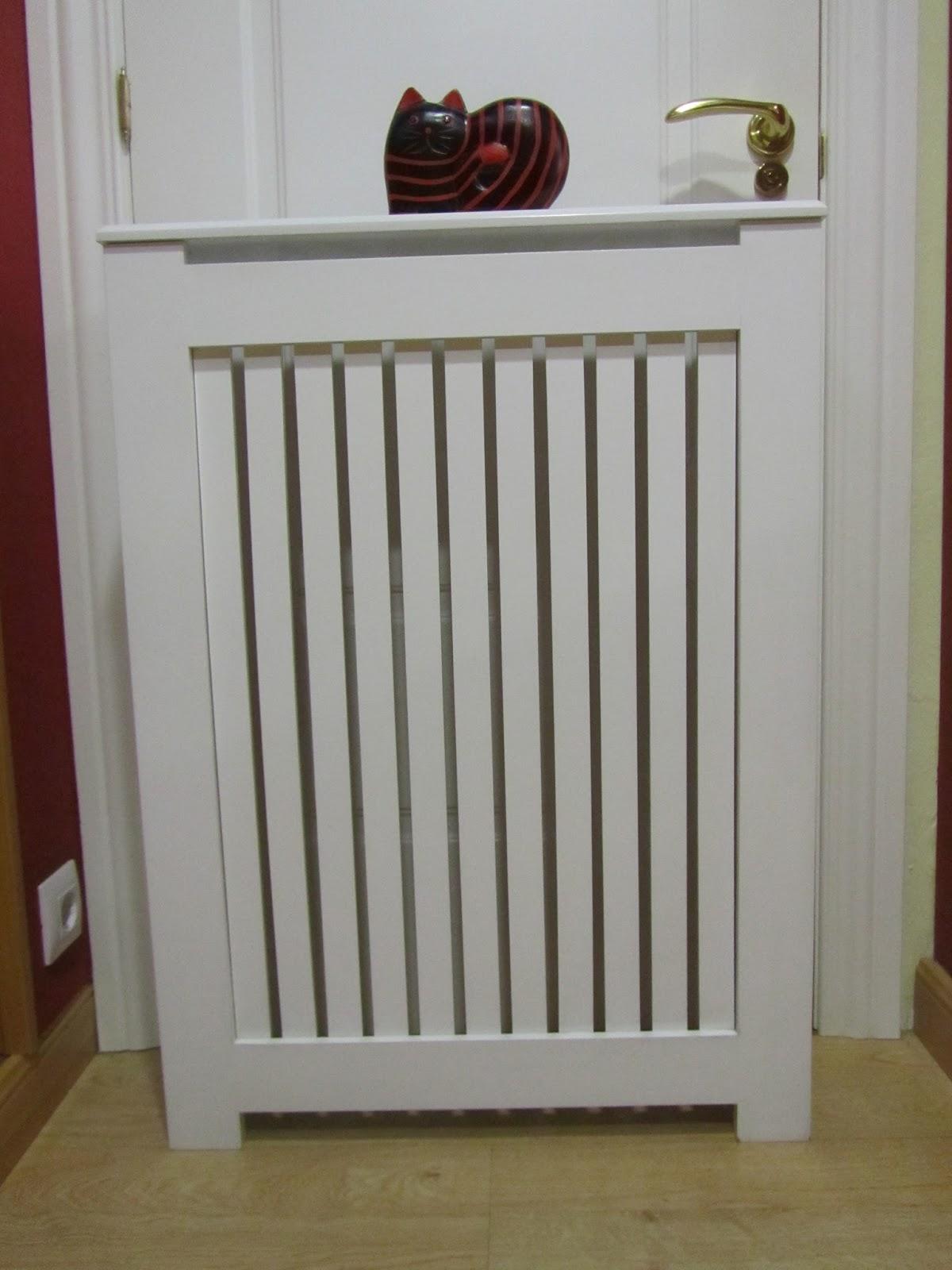 Puertas lozano mueble auxiliar cubreradiadores a medida - Como hacer cubreradiadores ...