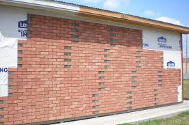 Stucco and Brick Siding
