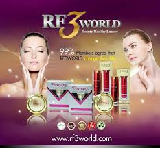RF3 World Tembusi Pasaran Antarabangsa