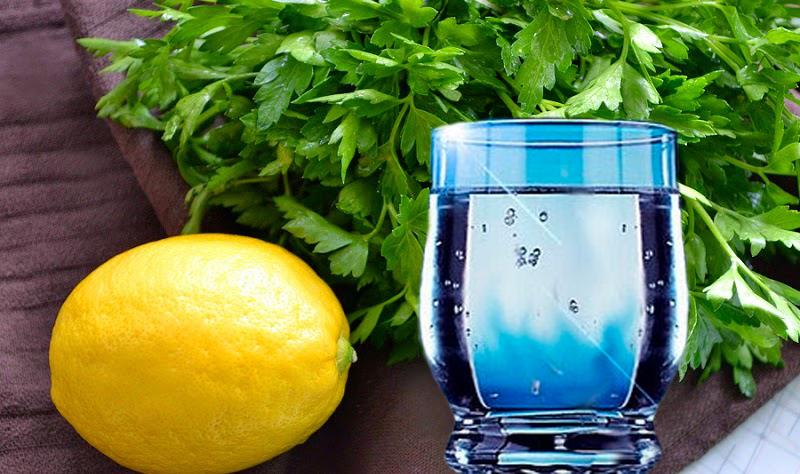 Resultado de imagen para • 2 cucharadas de hojas de perejil picado • 1 cucharadita de jugo de limón o vinagre de manzana • 200 ml de agua