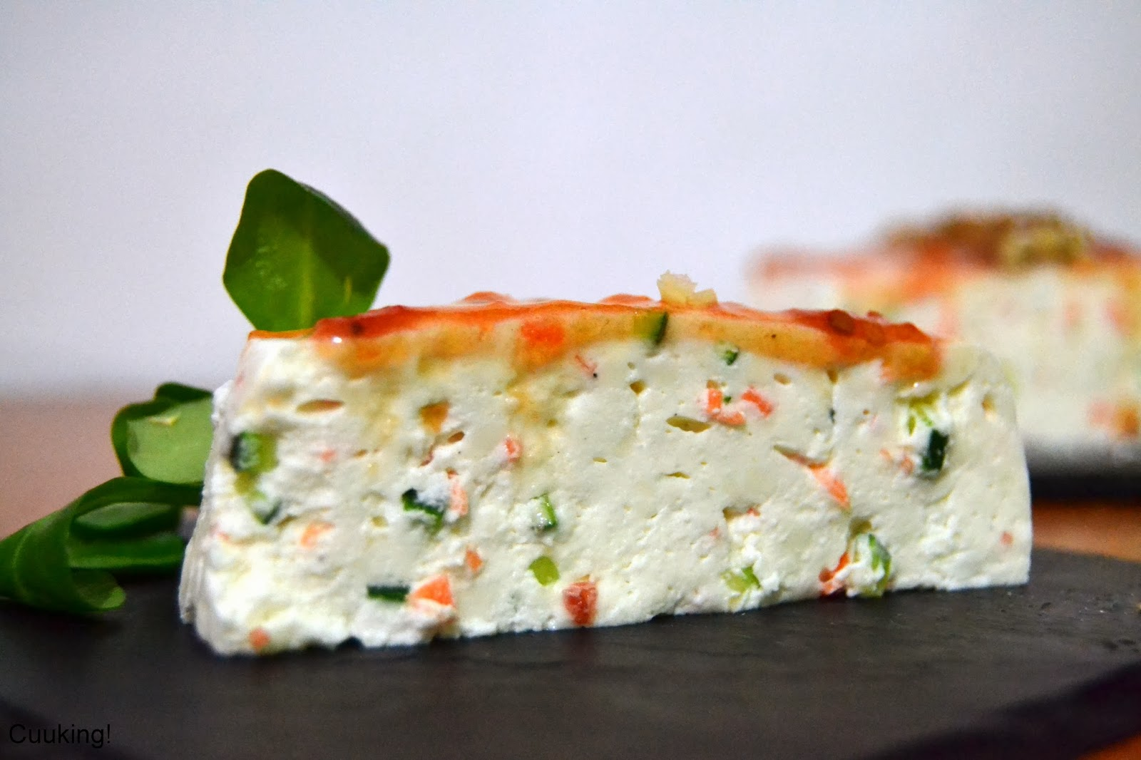 Pastel de zanahoria con queso filadelfia
