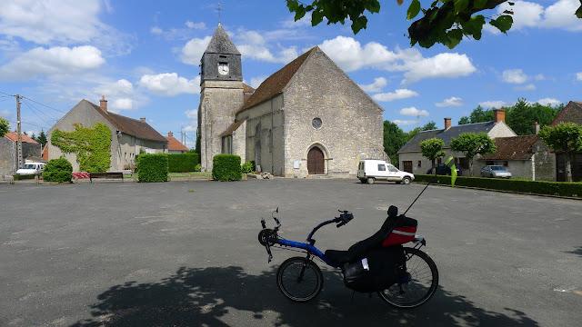 Tour de la Beauce en vélo couché Aulnay-La-Rivière