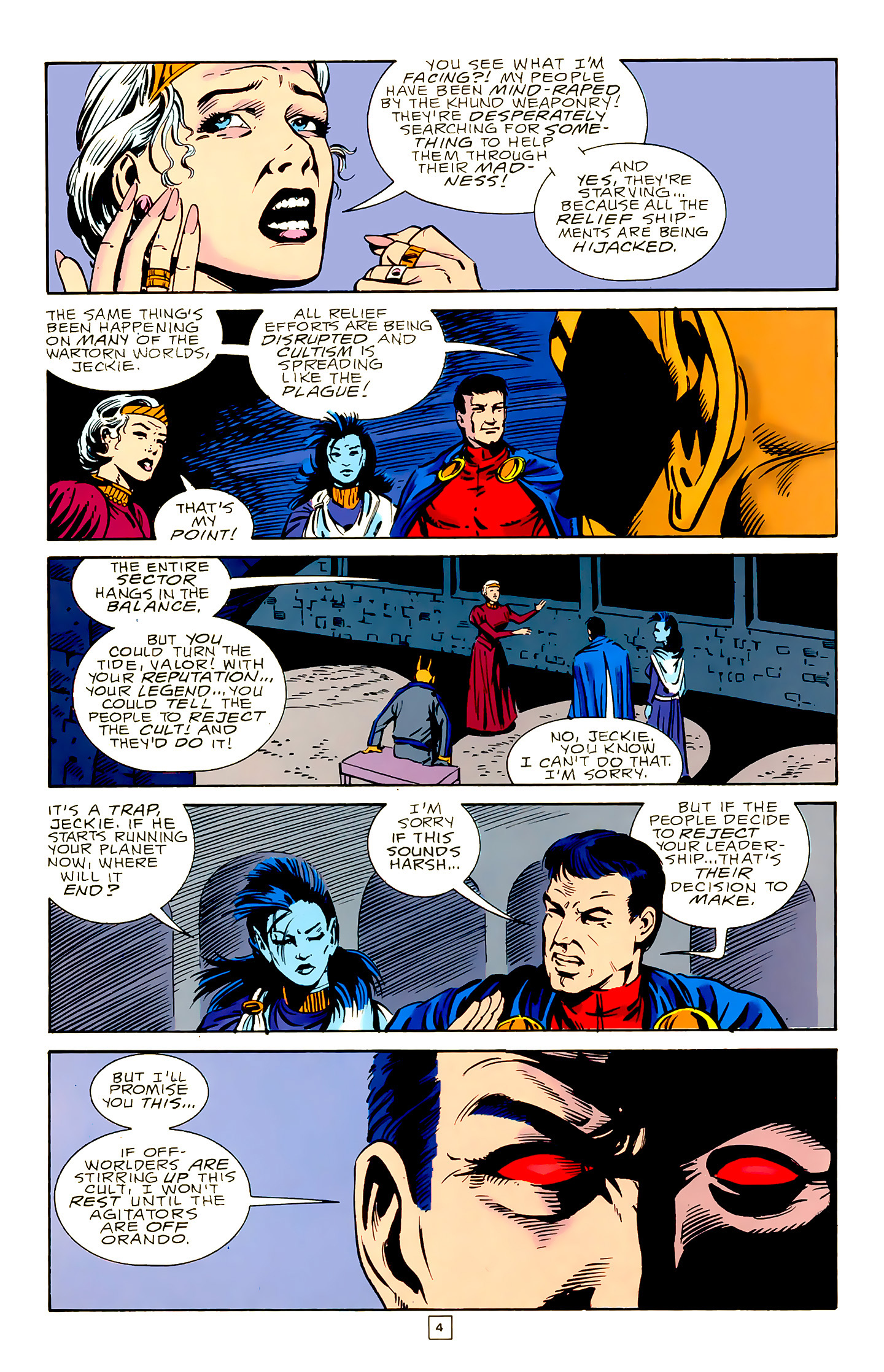 Legion of Super-Heroes (1989) 18 Page 4