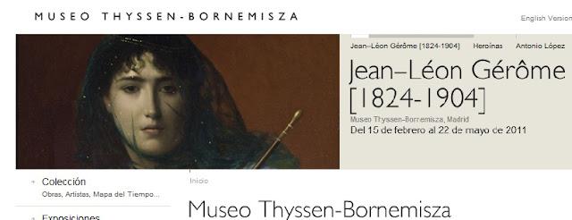 Exposición de Gérôme´ en el Thyssen