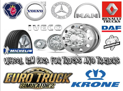 Wheel Rim Pack for Trucks and Trailers