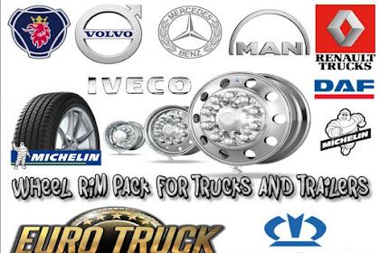 Wheel Rim Pack untuk Truck dan Trailer
