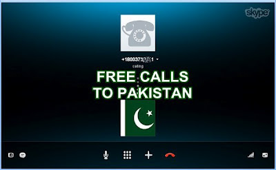 Free Calls to Pakistan via Skype