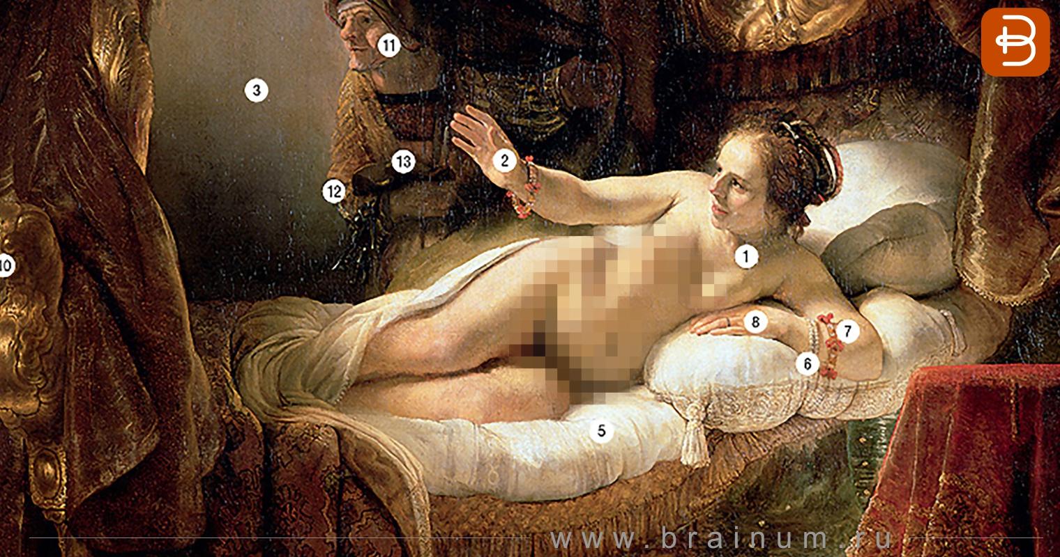 Зашифрованные символы в картинах художников