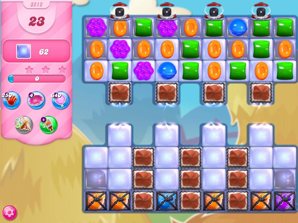 Candy Crush Saga level 3212
