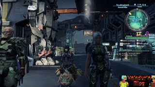 Party members from Xenoblade Chronicles X